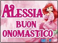 Alessia buon onomastico - Alessia