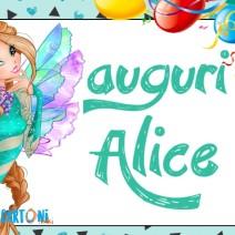 Auguri Alice - Auguri