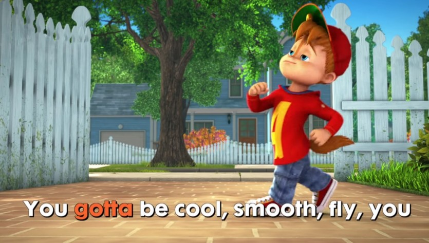 You Gotta Be Cool from We're Chipmunks - Cartoni animati