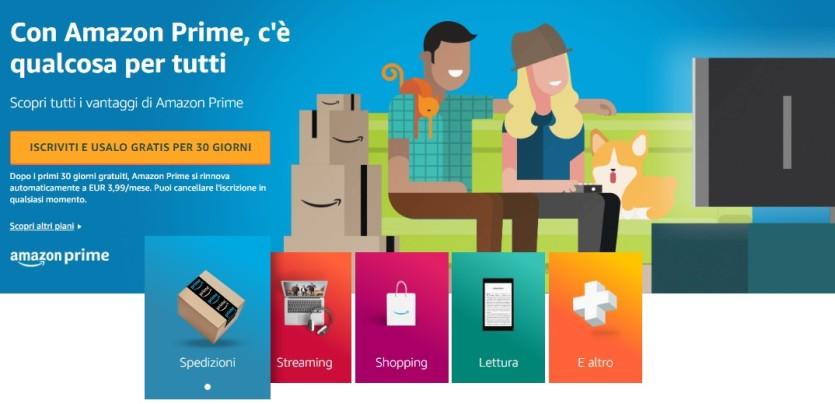 Amazon per il tuo shopping online - Cartoni animati