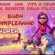 Buon compleanno Andrea - Andrea
