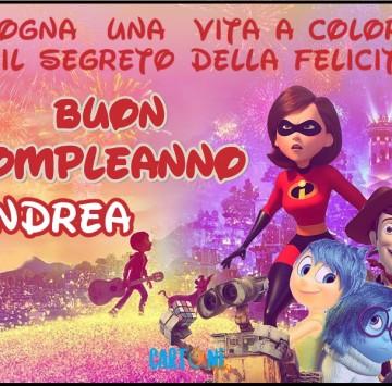 Buon compleanno Andrea - Cartoni animati