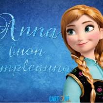 Anna buon compleanno - Anna