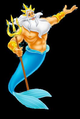Tritone padre di Ariel la sirenetta