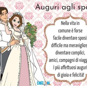 Auguri agli sposi - Nella vita in comune - Cartoni animati