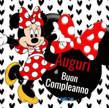 Auguri di buon compleanno con Topolina - Cartoni animati