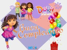 Buon compleanno con Dora and Friends