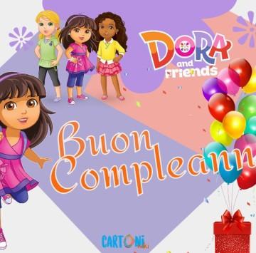 Buon compleanno con Dora and Friends - Cartoni animati