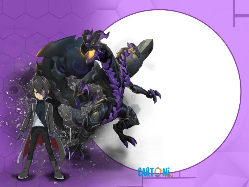 Bakun Battle Planet Darkus - Cartoni animati