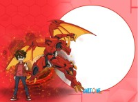 Bakugan Battle Planet Pyrus - Inviti compleanno online