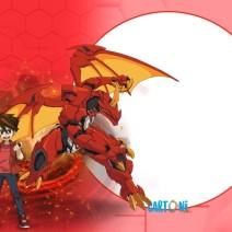 Bakugan Battle Planet Pyrus - Inviti compleanno online