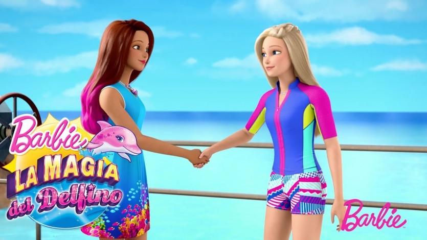 Barbie La Magia Del Delfino Live In The Moment Cartoni Animati