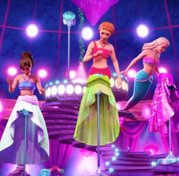 Mermaid party! Barbie pearl princess - Cartoni animati