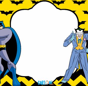 Batman biglietto auguri compleanno - Cartoni animati