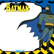 Batman stampa biglietto auguri - Biglietti di auguri