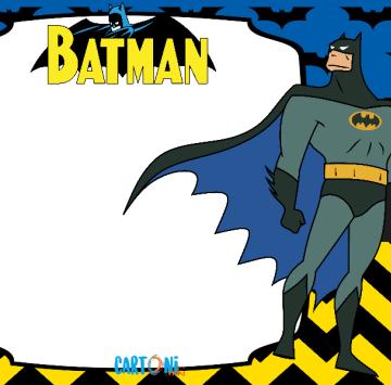 Batman stampa biglietto auguri - Cartoni animati