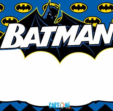 Batman Template - Cartoni animati