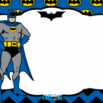 Batman invito compleanno - Inviti feste compleanno