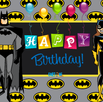 Batman Happy birthday - Cartoni animati