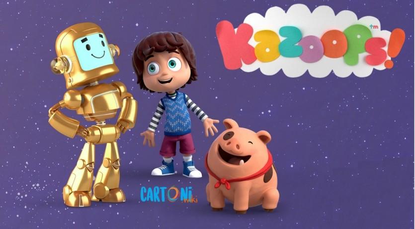Bazoops ! - Cartoni animati