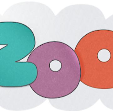 Bazoops Logo italiano - Cartoni animati