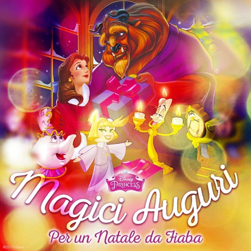 Auguri Di Natale Wikipedia.Auguri Magici Di Natale Con La Bella E La Bestia Cartoni Animati