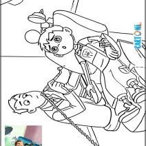 Ben 10 dal dentista disegno da stampare - Stampa e colora