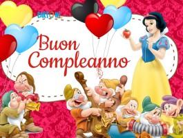 Buon compleanno da Biancaneve