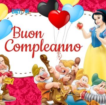 Buon compleanno da Biancaneve - Cartoni animati