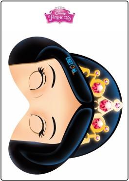 Maschera Biancaneve da stampare