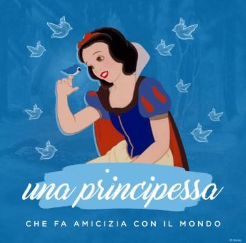 Biancaneve una Principessa che fa amicizia con il mondo - Cartoni animati