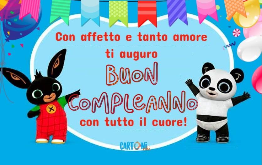 Buon compleanno con Bing - Cartoni animati