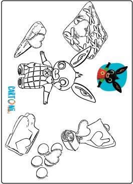 Bing cartone disegni da colorare