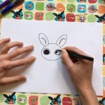 Come disegnare i personaggi di Bing - Come disegnare