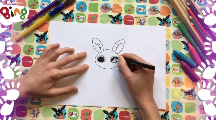 Come disegnare i personaggi di Bing - Cartoni animati