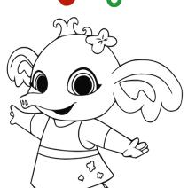 Disegni Bing da colorare - Stampa e colora
