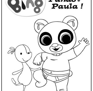 Bing Da Colorare E Stampare Cartoni Animati