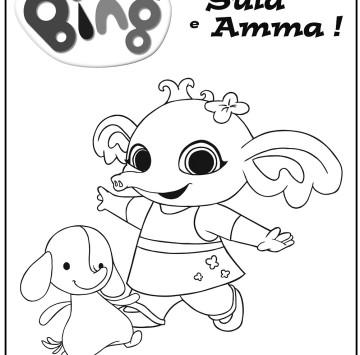 Bing disegno Sula e Amma - Cartoni animati