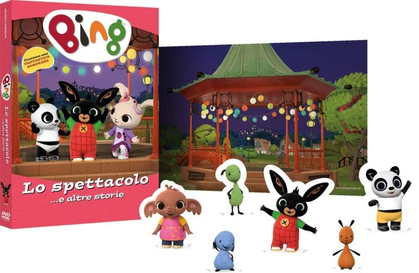 DVD di Bing - Cartoni animati