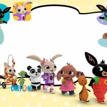 Bing bunny party invitations - Party invitations