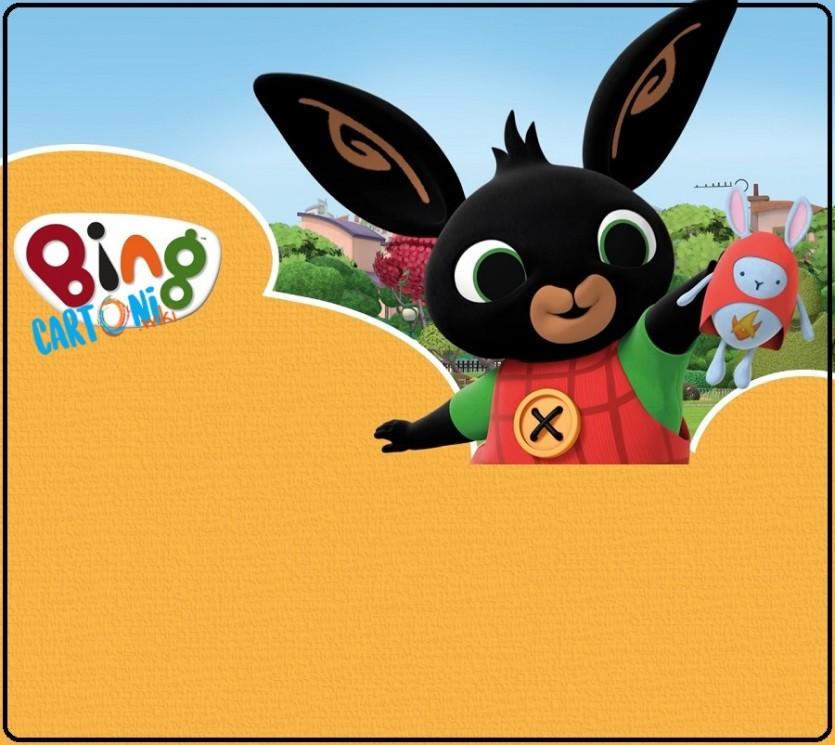 Bing cartone invito festa compleanno whatsapp - Cartoni animati