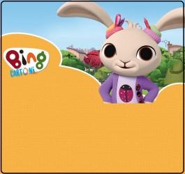 Bing cartone invito festa con Coco