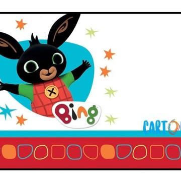 Bing crea biglietto di auguri - Cartoni animati