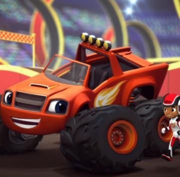 Blaze e le megamacchine testo sigla italiana - Cartoni animati