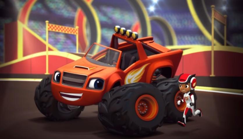 Blaze e le megamacchine testo sigla italiana cartoni animati