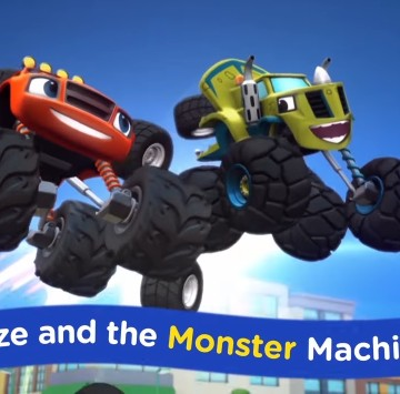 Blaze and the Monster Machines Lyrics - Cartoni animati