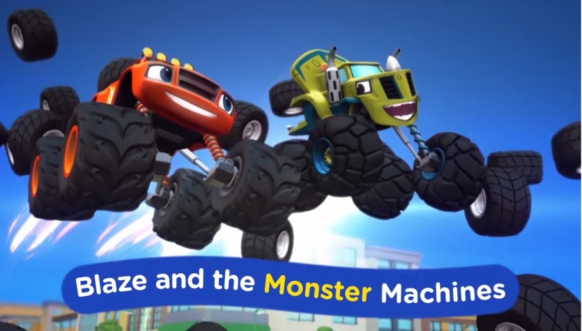 Blaze and the monster machines lyrics cartoni animati