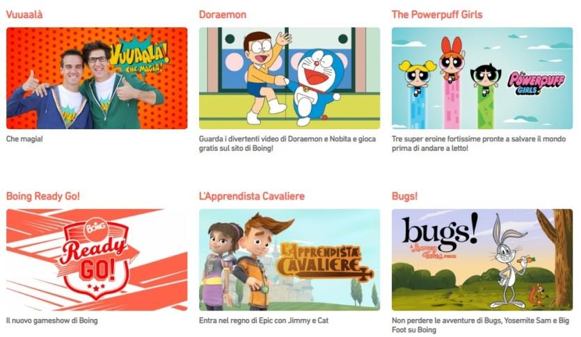 Boing Tv - Cartoni animati