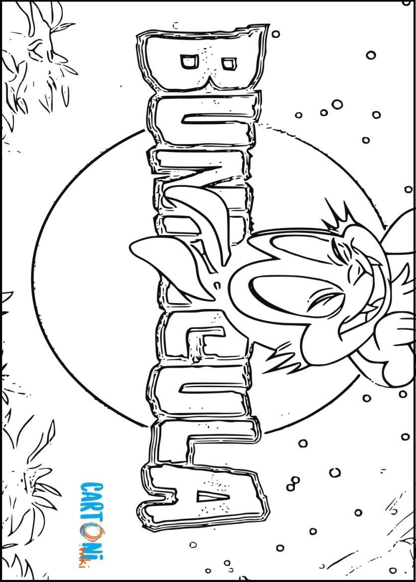 Bunnicola disegni da colorare - Cartoni animati