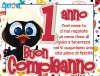 Buon compleanno 1 anno con Calimero - Buon compleanno 1 anno